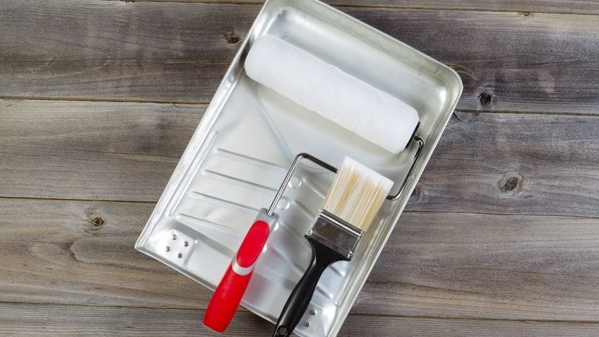 Paint Roller and Tray to assist with painting your home