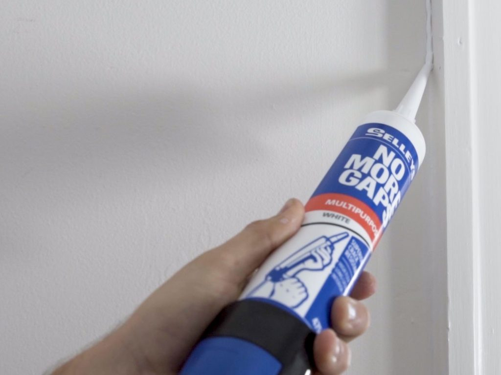 Selleys no more gaps for cracks when repainting your home