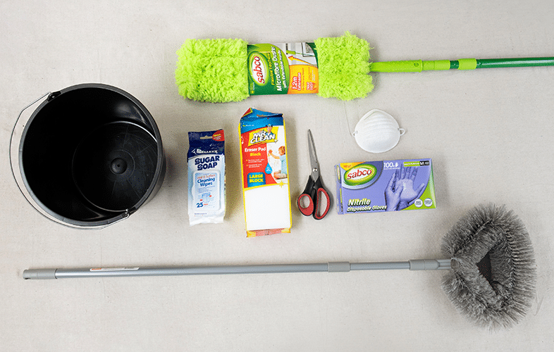Tools to paint your home